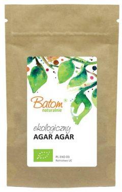 Agar Agar ekologiczny 20g Batom naturalnie - środki żelujące -Bio Zakątek