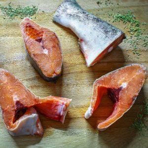 Algi, ryby i produkty do sushi
