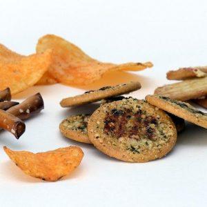 Chrupki, chipsy, paluszki i wafle